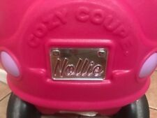 Cozy Coupe License Plate, Personalized Little Tikes License Plate