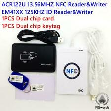 NFC ACR122U 13.56MHZ RFID CARD + 125KHZ ID Reader & Writer programmer M1 EM4100