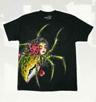 Sullen Art Collective Thad Richey Mens T-Shirt Spider MMA UFC Tattoo Clothing