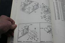 antique Ibm computer 5415 and 3344 parts catalogs