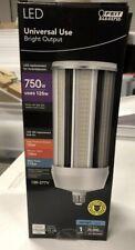 Feit 15,000 Lumen Daylight LED Yard Light Bulb Cob Shaped E26 Med Base 5000k New