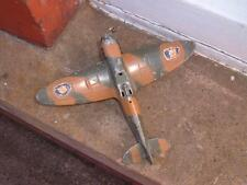DINKY TOYS #719 SPITFIRE AEROPLANE NEEDING RESTORATION NO CANOPY OR PROPELLER