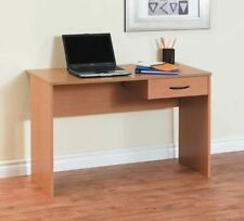 Light Duty Laptop Study Desk Table Workstation Home Office Corner PC Oak Color