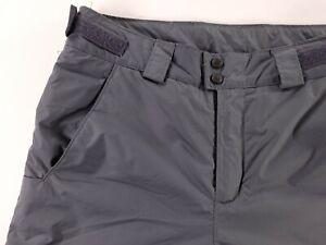 Columbia Ski Pants Mens Size Small Snowboard Snow Gray Adjustable