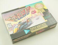Super Nintendo SNES - F-Zero - Brand New Factory Sealed
