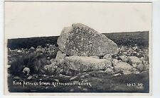 KING ARTHUR'S STONE REYNOLDSTON, GOWER: Glamorgan postcard (C10850)