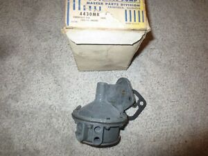 1958 Chevrolet Impala Bel Air Biscayne V8 283 Fuel Pump