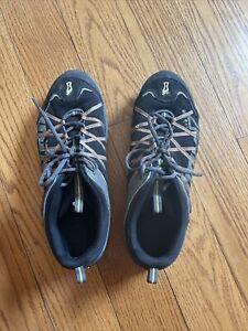 Inov-8 RocLite 295 Mens  Trail Hiking Running Shoes Sz 12 Black Multi Inov8