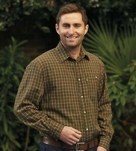 Chatsworth shirt Sale Champion poly/cotton men's country casual Clearance price