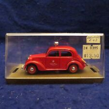BRUMM REVIVAL #R63 1937-1939 FIAT 508C BERLINA 1100, FIRE CHIEF CAR PLASTIC CASE