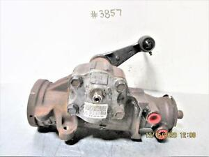 2001 CHEVROLET BLAZER/JIMMY WITH OUT ZR2 4X4 STEERING GEAR BOX P/N 15059796