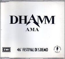 Dhamm Ama Cd Single Promo Radio 46° Festival di Sanremo  1996