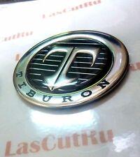 1PCS T symbol 2001-2006 Hyundai Tiburon Tuscani Coupe Hood emblem badge