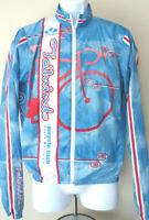 VOLER TAILWINDS Full zip Cycling Jersey Medium Santa Maria Bicycle Club