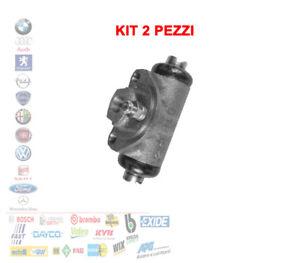 KIT 2 PEZZI CILINDRETTO FRENO FIAT 500 F L EPOCA 500 POSTERIORI 89500