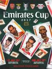 * 2017 EMIRATES CUP - ARSENAL / LEIPZIG / SEVILLA / BENFICA (29th/30th July) *