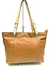 Mickael Kors Brown Leather Tote