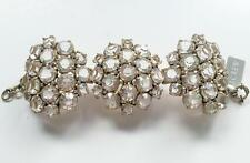 Authentic J Crew Jubilant Crystal Cluster Bracelet item A2956. Retail: $98.00