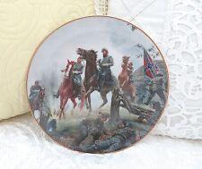 "Danbury Mint Legends In Gray ""Jackson At Antietam"" Civil War Plate Mort Kunstler"
