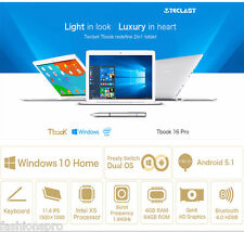 Teclast Tbook 16 Pro 2 in 1 11.6'' Tablet PC Windows 10+Android 5.1 4GB 64GB OTG
