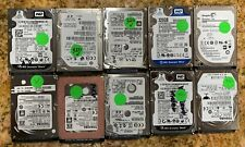 """Lot of 10 320GB 320 GB 2.5"""" SATA Mixed Brand Laptop Hard Drives HDD's *TESTED*"""