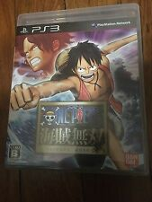 One Piece: Kaizoku Musou (Sony PlayStation 3, 2012) Japanese Version (Complete)