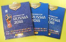 Panini World Cup WC Russia 2018 Empty Album x 3 Chile Version Chilean Edition