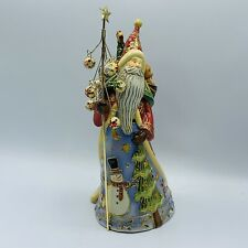 Roman Inc Cloisonné 10� Santa Music Box Toys And Tree - Here Comes Santa Clause