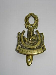Vintage Brass Door Knocker - The Old Smithy Codshill