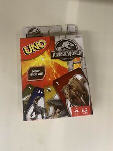 Uno Jurassic World LIMITED EDITION (FLK66) **Brand New Sealed** Rare