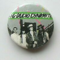 BIG AUDIO DYNAMITE OLD METAL BUTTON BADGE FROM THE 1980's VINTAGE RETRO CLASH