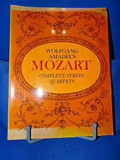 Wolfgang Amadeus Mozart Complete String Quartets 1970 Softcover