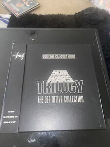 Star Wars Trilogy The Definitive Collection Laserdisc Widescreen Box Set W/Book