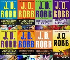 JD Robb In Death Series Collection Set Books 37-44 by Nore Roberts Brand New