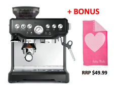 Breville BES870BKS the Barista Express™ Coffee Machine - Black + BONUS TOWEL!
