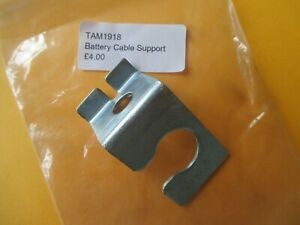 Classic Mini TAM1918 Battery Cable Support Bracket Re Zinc Plated