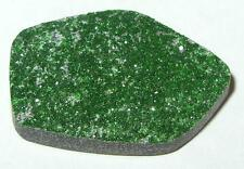 25.80ct TOP QUALITY RUSSIAN GREEN UVAROVITE GARNET DRUSY CABOCHON