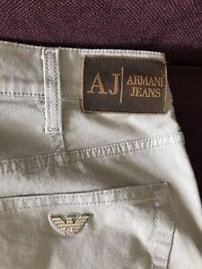 Armani Jeans Herren Hose Gr. 32 beige