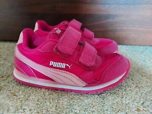 Infant Girls Puma Trainers Size 8 Uk