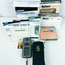 Garmin GPSMAP 76CSx Handheld Color GPS Geocaching US Great Britian TOPO Bundle
