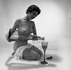 1960s Negative-nude brunette pinup girl Dixie Hardaker-cheesecake t977890