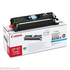 Genuine CANON CYAN TONER EP87C EP-87C MF8170C MF8180C LBP2410 Printer 7432A005AA