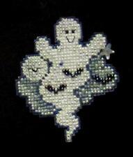 Mill Hill Moonlight Ghost Cross Stitch Glass Bead Kit - 2008 Autumn Harvest