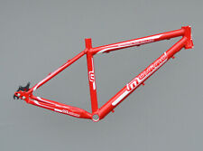 "Müsing Offroad Pro Rohloff Mountainbike Rahmen 42cm Alu rot-weiss 26"" Disc NR520"