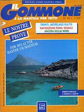 * IL GOMMONE E LA NAUTICA PER TUTTI N°96/ MAR.1991 *