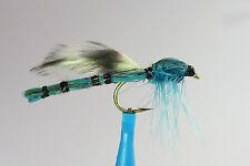 1 x Mouche streamer DEMOISELLE BLEU H10/12 fly truite trout fliegen mosca damsel