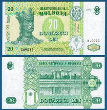 MOLDAWIEN / MOLDOVA 20 Lei 1999  UNC  P.13