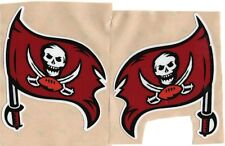 TAMPA BAY BUCCANEERS FULL SIZE FOOTBALL HELMET DECALS WITH BUMPERS