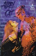 ALLEY BAGGETT SIGNED ALLEY CAT COMIC BOOK #2  (B)