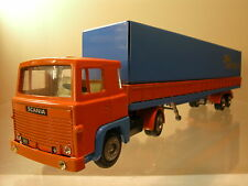 TEKNO HOLLAND SCANIA 141 V8 ARTICULATED LONGTRAILER TRUCK SCALE1:50